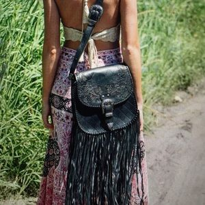 Spell and the gypsy muse bag black NWOT